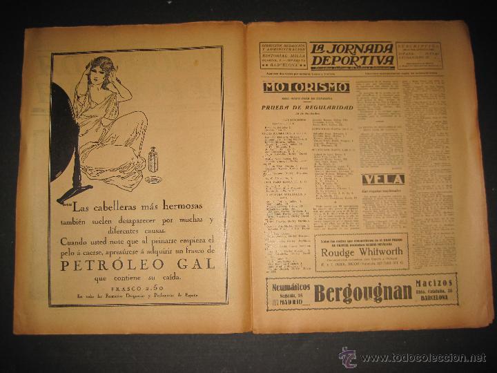 Coleccionismo deportivo: PARTIDO FUTBOL U.S. SANS -F.C. BARCELONA - JORNADA DEPORTIVA NUM. 81- NOVIEMBRE 1922-(CD-1372) - Foto 2 - 47437642