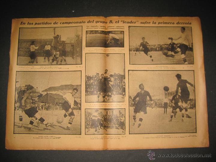 Coleccionismo deportivo: PARTIDO FUTBOL U.S. SANS -F.C. BARCELONA - JORNADA DEPORTIVA NUM. 81- NOVIEMBRE 1922-(CD-1372) - Foto 5 - 47437642