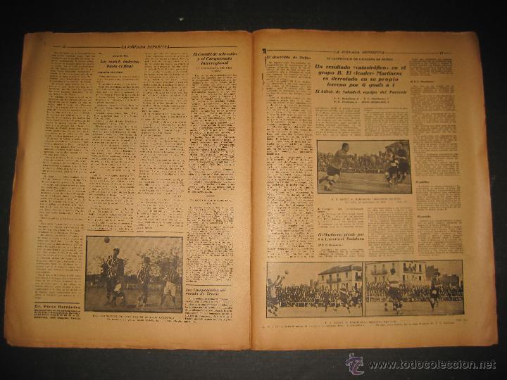 Coleccionismo deportivo: PARTIDO FUTBOL U.S. SANS -F.C. BARCELONA - JORNADA DEPORTIVA NUM. 81- NOVIEMBRE 1922-(CD-1372) - Foto 7 - 47437642