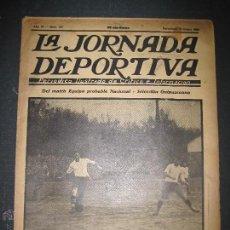 Coleccionismo deportivo: SELECCION GUIPUZCOANA - JORNADA DEPORTIVA NUM.107- ENERO 1923-(CD-1375). Lote 47437863