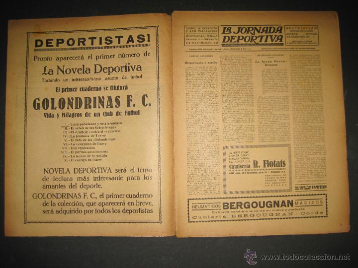 Coleccionismo deportivo: SELECCION GUIPUZCOANA - JORNADA DEPORTIVA NUM.107- ENERO 1923-(CD-1375) - Foto 2 - 47437863