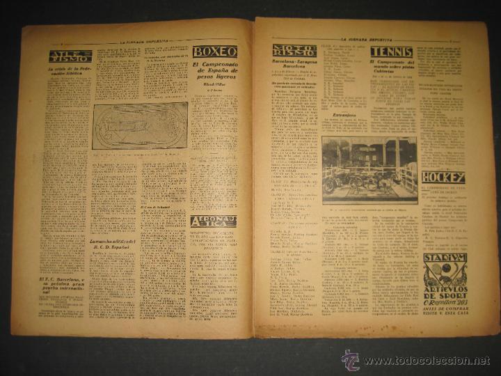 Coleccionismo deportivo: SELECCION GUIPUZCOANA - JORNADA DEPORTIVA NUM.107- ENERO 1923-(CD-1375) - Foto 3 - 47437863
