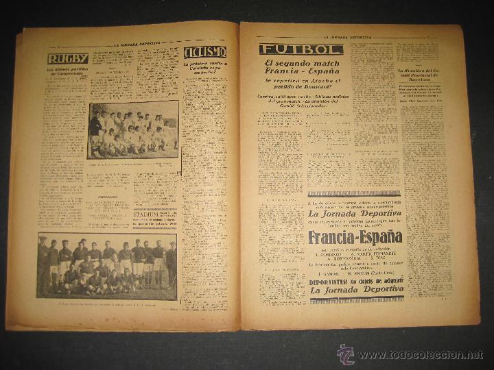 Coleccionismo deportivo: SELECCION GUIPUZCOANA - JORNADA DEPORTIVA NUM.107- ENERO 1923-(CD-1375) - Foto 4 - 47437863