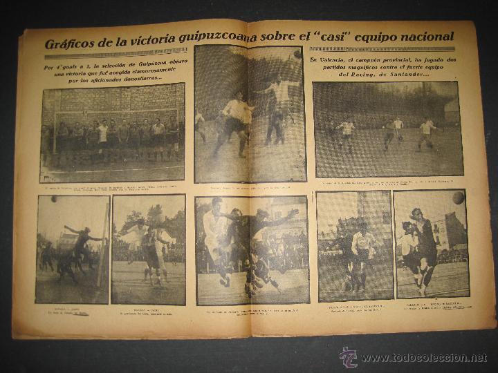Coleccionismo deportivo: SELECCION GUIPUZCOANA - JORNADA DEPORTIVA NUM.107- ENERO 1923-(CD-1375) - Foto 5 - 47437863