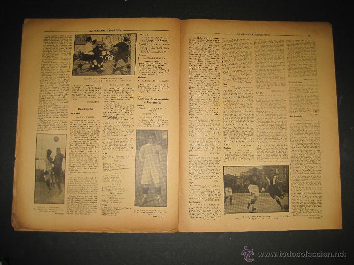 Coleccionismo deportivo: SELECCION GUIPUZCOANA - JORNADA DEPORTIVA NUM.107- ENERO 1923-(CD-1375) - Foto 7 - 47437863