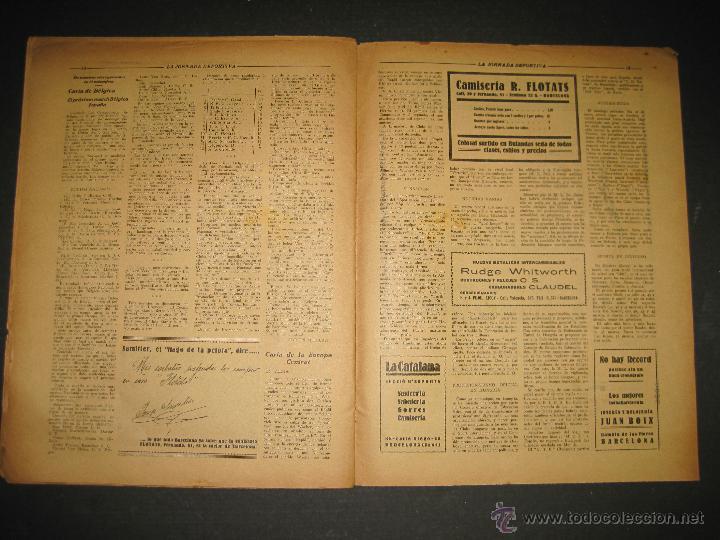 Coleccionismo deportivo: SELECCION GUIPUZCOANA - JORNADA DEPORTIVA NUM.107- ENERO 1923-(CD-1375) - Foto 8 - 47437863