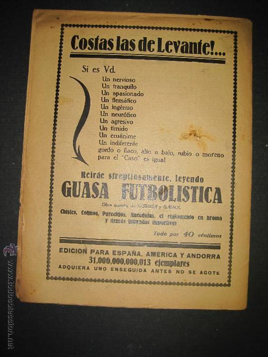 Coleccionismo deportivo: SELECCION GUIPUZCOANA - JORNADA DEPORTIVA NUM.107- ENERO 1923-(CD-1375) - Foto 9 - 47437863
