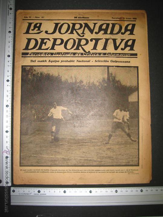 Coleccionismo deportivo: SELECCION GUIPUZCOANA - JORNADA DEPORTIVA NUM.107- ENERO 1923-(CD-1375) - Foto 10 - 47437863