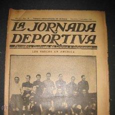 Coleccionismo deportivo: EQUIPO VASCO EN AMERICA - JORNADA DEPORTIVA NUM.59 - SEPTIEMBRE 1922-(CD-1377). Lote 47437952