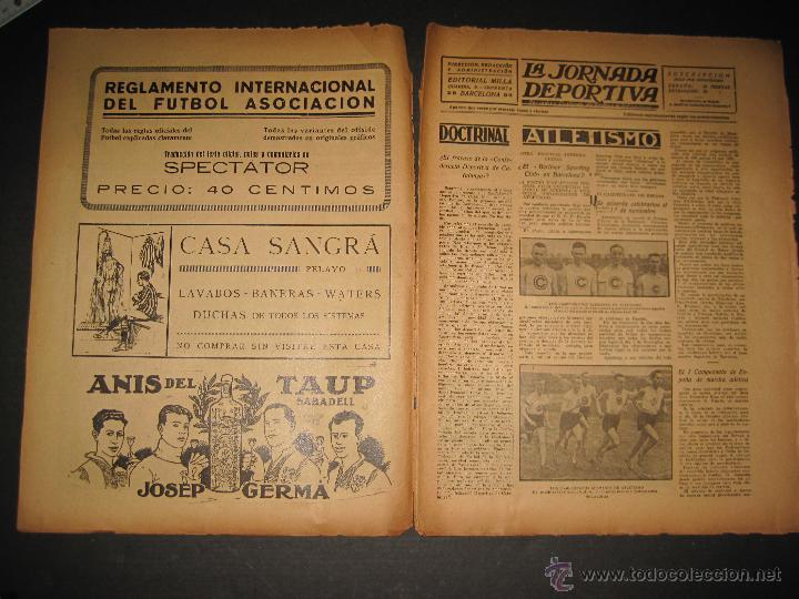 Coleccionismo deportivo: EQUIPO VASCO EN AMERICA - JORNADA DEPORTIVA NUM.59 - SEPTIEMBRE 1922-(CD-1377) - Foto 2 - 47437952