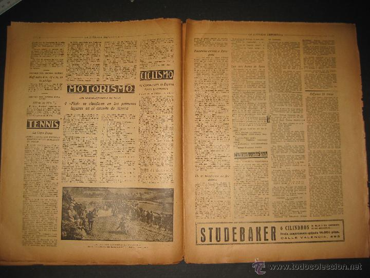 Coleccionismo deportivo: EQUIPO VASCO EN AMERICA - JORNADA DEPORTIVA NUM.59 - SEPTIEMBRE 1922-(CD-1377) - Foto 3 - 47437952