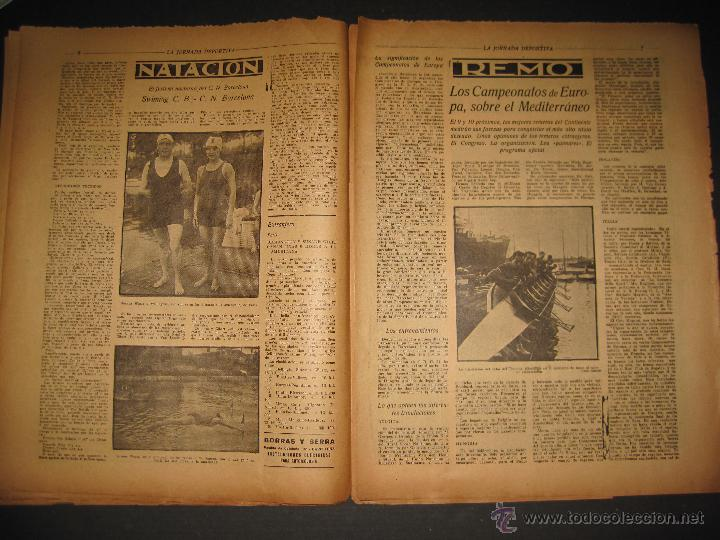 Coleccionismo deportivo: EQUIPO VASCO EN AMERICA - JORNADA DEPORTIVA NUM.59 - SEPTIEMBRE 1922-(CD-1377) - Foto 4 - 47437952