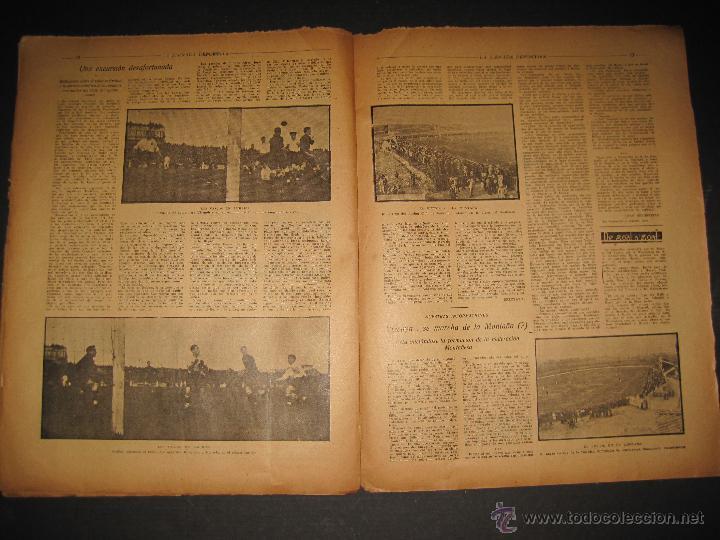 Coleccionismo deportivo: EQUIPO VASCO EN AMERICA - JORNADA DEPORTIVA NUM.59 - SEPTIEMBRE 1922-(CD-1377) - Foto 7 - 47437952