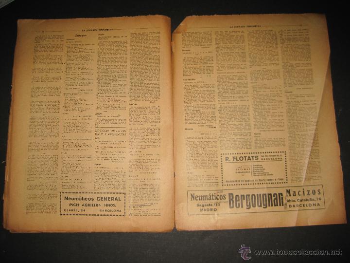 Coleccionismo deportivo: EQUIPO VASCO EN AMERICA - JORNADA DEPORTIVA NUM.59 - SEPTIEMBRE 1922-(CD-1377) - Foto 8 - 47437952