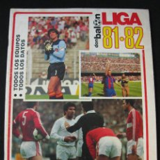 Coleccionismo deportivo: DON BALON EXTRA LIGA 81-82 1981-1982. Lote 47439185