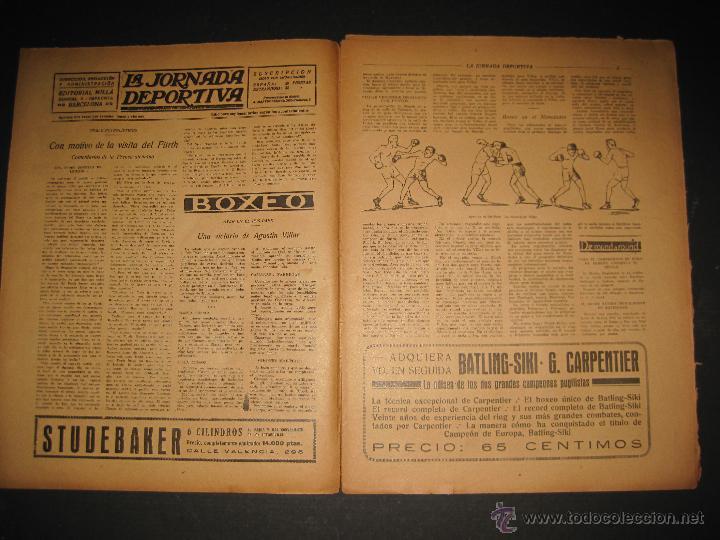Coleccionismo deportivo: ARENAS BILBAO ,EUROPA, CARDIFF CITY TOTTENHAM - JORNADA DEPORTIVA NUM.69 - OCTUBRE 1922-(CD-1378) - Foto 2 - 47446507