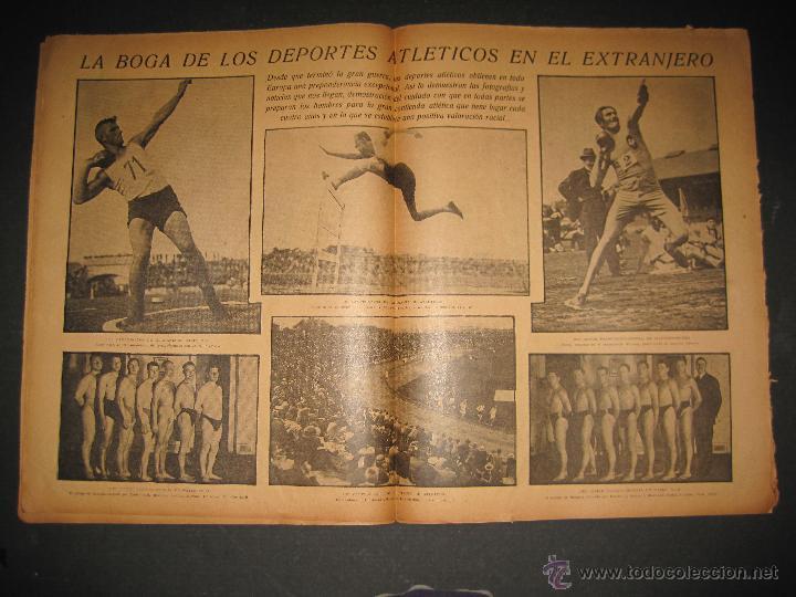 Coleccionismo deportivo: ARENAS BILBAO ,EUROPA, CARDIFF CITY TOTTENHAM - JORNADA DEPORTIVA NUM.69 - OCTUBRE 1922-(CD-1378) - Foto 5 - 47446507