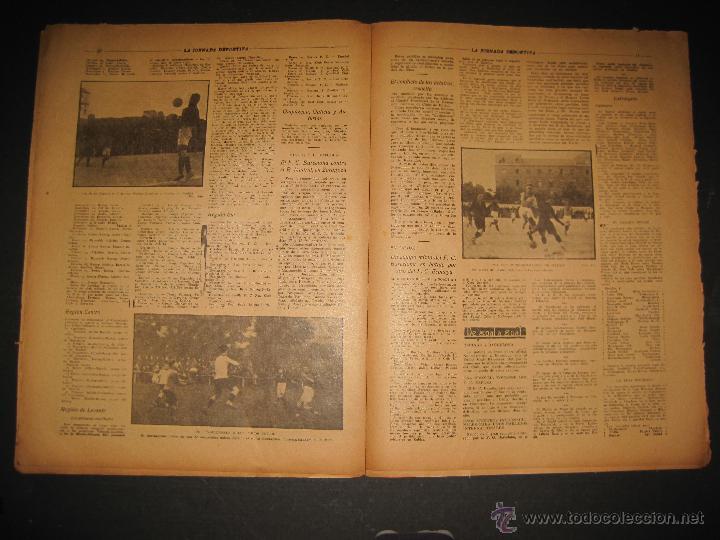 Coleccionismo deportivo: ARENAS BILBAO ,EUROPA, CARDIFF CITY TOTTENHAM - JORNADA DEPORTIVA NUM.69 - OCTUBRE 1922-(CD-1378) - Foto 6 - 47446507