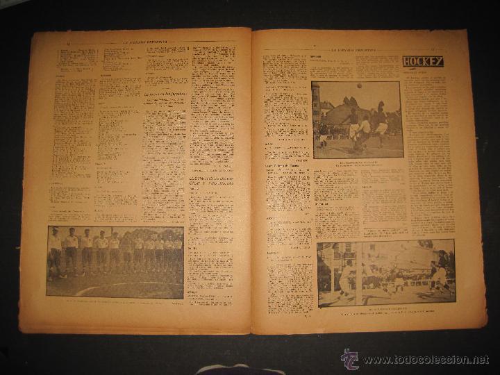 Coleccionismo deportivo: ARENAS BILBAO ,EUROPA, CARDIFF CITY TOTTENHAM - JORNADA DEPORTIVA NUM.69 - OCTUBRE 1922-(CD-1378) - Foto 7 - 47446507