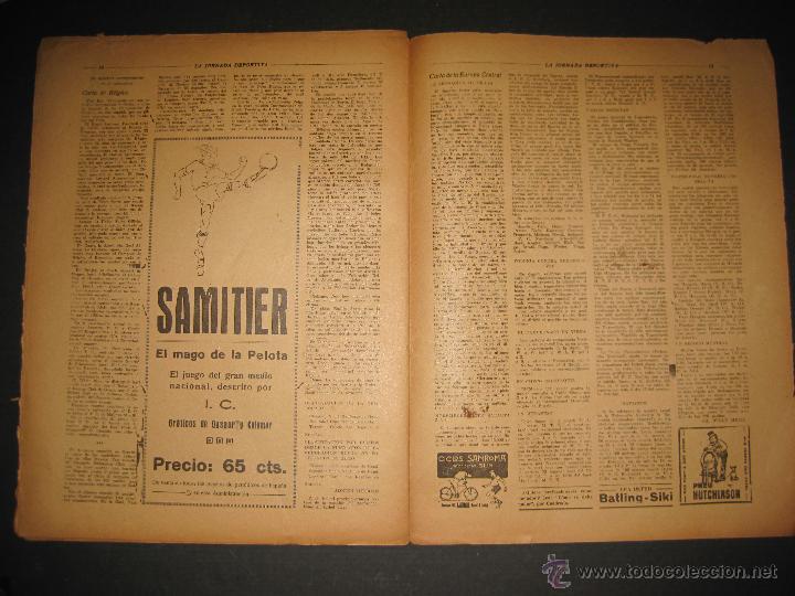 Coleccionismo deportivo: ARENAS BILBAO ,EUROPA, CARDIFF CITY TOTTENHAM - JORNADA DEPORTIVA NUM.69 - OCTUBRE 1922-(CD-1378) - Foto 8 - 47446507