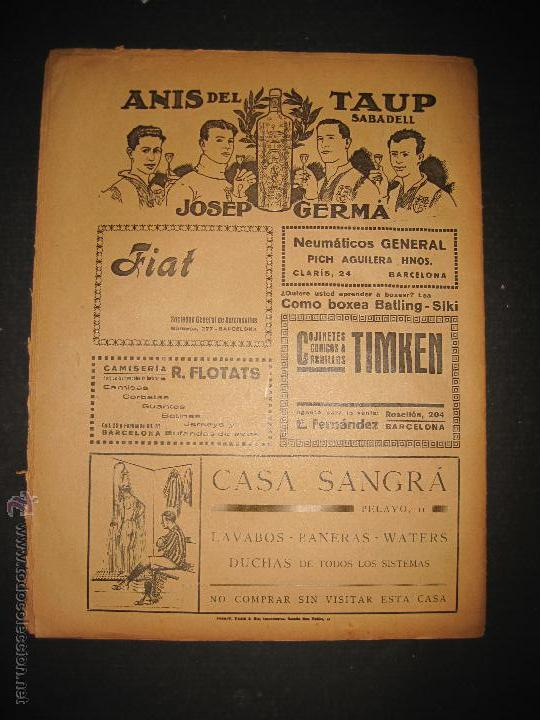 Coleccionismo deportivo: ARENAS BILBAO ,EUROPA, CARDIFF CITY TOTTENHAM - JORNADA DEPORTIVA NUM.69 - OCTUBRE 1922-(CD-1378) - Foto 9 - 47446507
