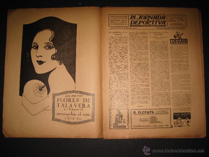 Coleccionismo deportivo: FUTBOL U.S. SANS , C.D. EUROPA - JORNADA DEPORTIVA NUM.56 - AGOSTO 1922 -(CD-1381) - Foto 2 - 47446647