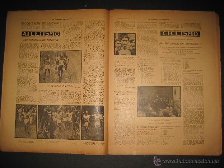 Coleccionismo deportivo: FUTBOL U.S. SANS , C.D. EUROPA - JORNADA DEPORTIVA NUM.56 - AGOSTO 1922 -(CD-1381) - Foto 3 - 47446647
