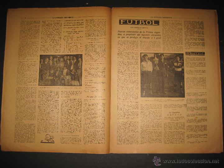 Coleccionismo deportivo: FUTBOL U.S. SANS , C.D. EUROPA - JORNADA DEPORTIVA NUM.56 - AGOSTO 1922 -(CD-1381) - Foto 4 - 47446647