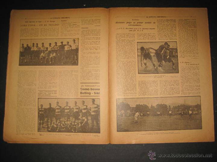Coleccionismo deportivo: FUTBOL U.S. SANS , C.D. EUROPA - JORNADA DEPORTIVA NUM.56 - AGOSTO 1922 -(CD-1381) - Foto 6 - 47446647