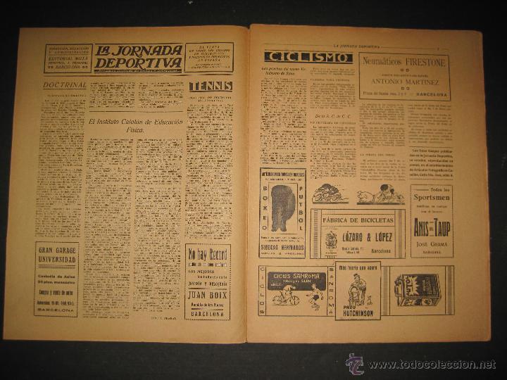 Coleccionismo deportivo: FUTBOL EL ESPANYA CAMPEON DEL GRUPOB - JORNADA DEPORTIVA NUM.22 -FEBRERO 1922 -(CD-1383) - Foto 2 - 47446746