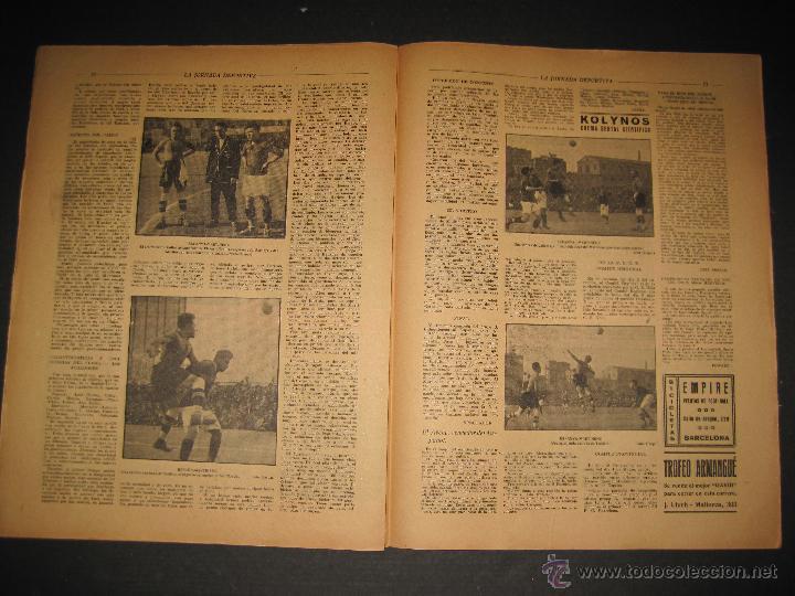 Coleccionismo deportivo: FUTBOL EL ESPANYA CAMPEON DEL GRUPOB - JORNADA DEPORTIVA NUM.22 -FEBRERO 1922 -(CD-1383) - Foto 6 - 47446746
