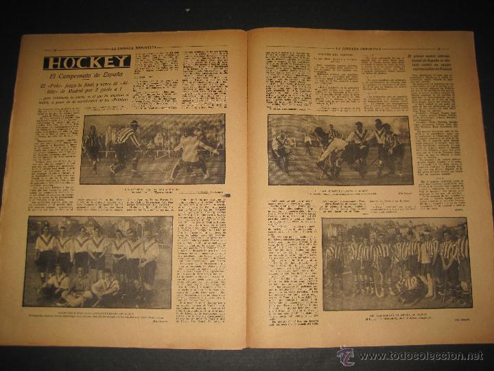 Coleccionismo deportivo: FUTBOL EL ESPANYA CAMPEON DEL GRUPOB - JORNADA DEPORTIVA NUM.22 -FEBRERO 1922 -(CD-1383) - Foto 7 - 47446746