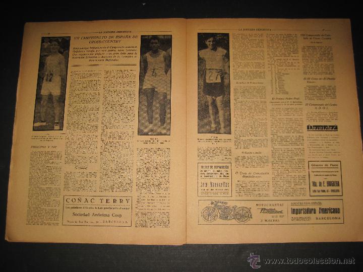 Coleccionismo deportivo: FUTBOL EL ESPANYA CAMPEON DEL GRUPOB - JORNADA DEPORTIVA NUM.22 -FEBRERO 1922 -(CD-1383) - Foto 8 - 47446746