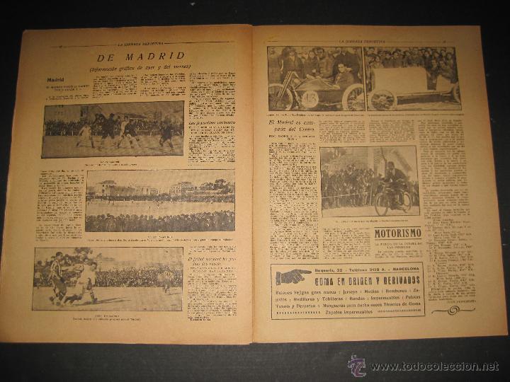 Coleccionismo deportivo: FUTBOL EL ESPANYA CAMPEON DEL GRUPOB - JORNADA DEPORTIVA NUM.22 -FEBRERO 1922 -(CD-1383) - Foto 9 - 47446746