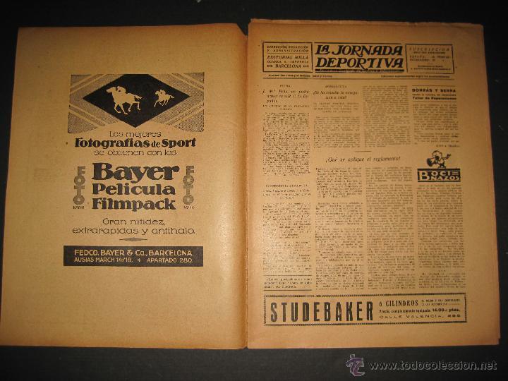 Coleccionismo deportivo: FUTBOL U.S. SANS , F.C. MARTINENC -JORNADA DEPORTIVA NUM.54 - AGOSTO 1922-(CD-1385) - Foto 2 - 47446823