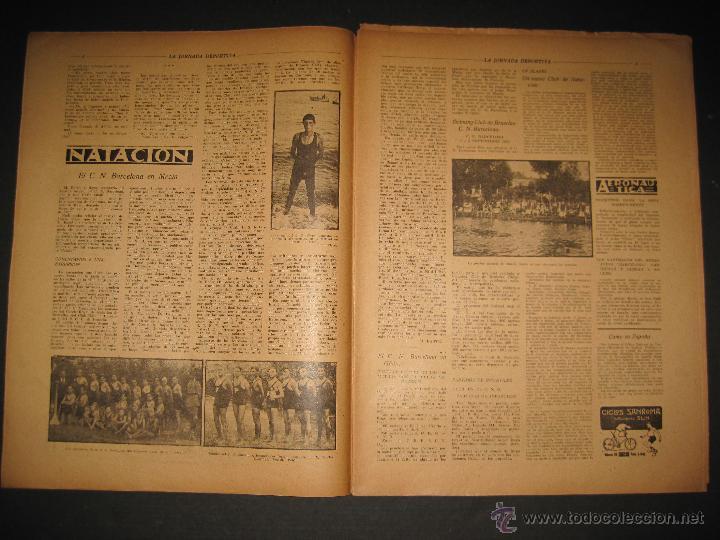 Coleccionismo deportivo: FUTBOL U.S. SANS , F.C. MARTINENC -JORNADA DEPORTIVA NUM.54 - AGOSTO 1922-(CD-1385) - Foto 3 - 47446823