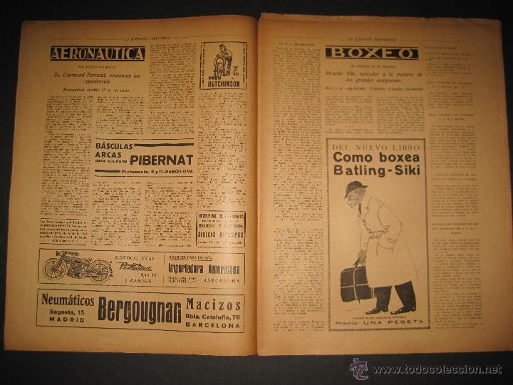 Coleccionismo deportivo: FUTBOL U.S. SANS , F.C. MARTINENC -JORNADA DEPORTIVA NUM.54 - AGOSTO 1922-(CD-1385) - Foto 4 - 47446823