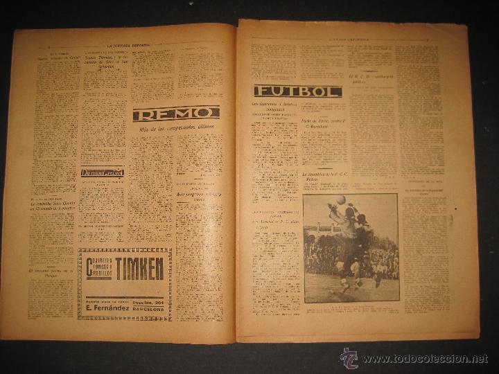 Coleccionismo deportivo: FUTBOL U.S. SANS , F.C. MARTINENC -JORNADA DEPORTIVA NUM.54 - AGOSTO 1922-(CD-1385) - Foto 5 - 47446823
