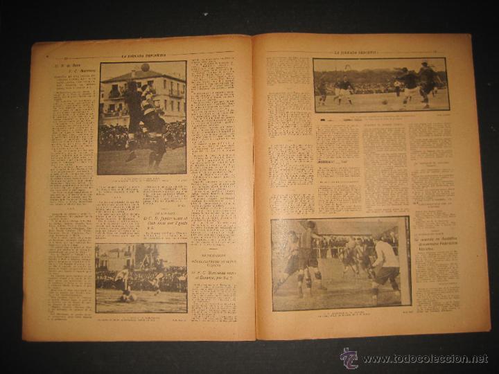 Coleccionismo deportivo: FUTBOL U.S. SANS , F.C. MARTINENC -JORNADA DEPORTIVA NUM.54 - AGOSTO 1922-(CD-1385) - Foto 7 - 47446823
