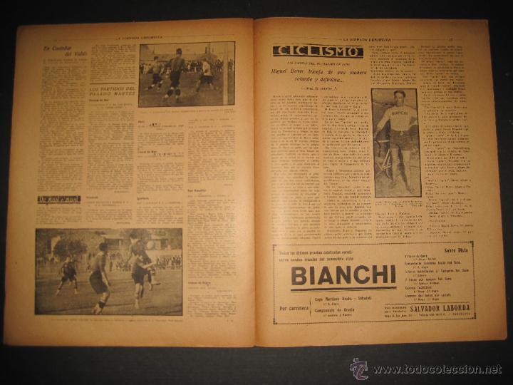 Coleccionismo deportivo: FUTBOL U.S. SANS , F.C. MARTINENC -JORNADA DEPORTIVA NUM.54 - AGOSTO 1922-(CD-1385) - Foto 8 - 47446823