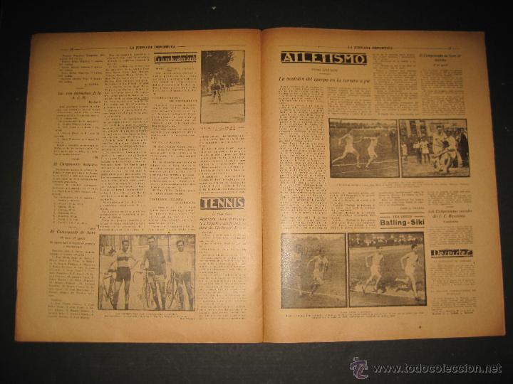 Coleccionismo deportivo: FUTBOL U.S. SANS , F.C. MARTINENC -JORNADA DEPORTIVA NUM.54 - AGOSTO 1922-(CD-1385) - Foto 9 - 47446823