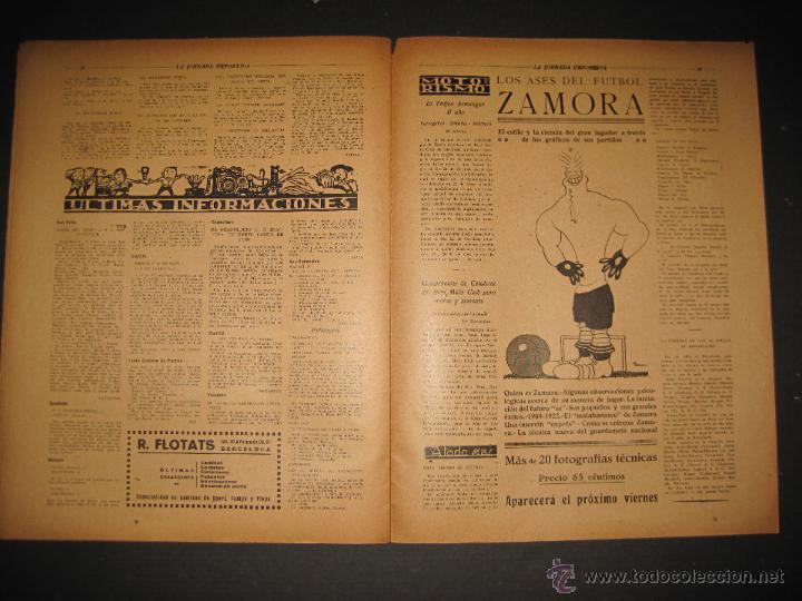 Coleccionismo deportivo: FUTBOL U.S. SANS , F.C. MARTINENC -JORNADA DEPORTIVA NUM.54 - AGOSTO 1922-(CD-1385) - Foto 10 - 47446823