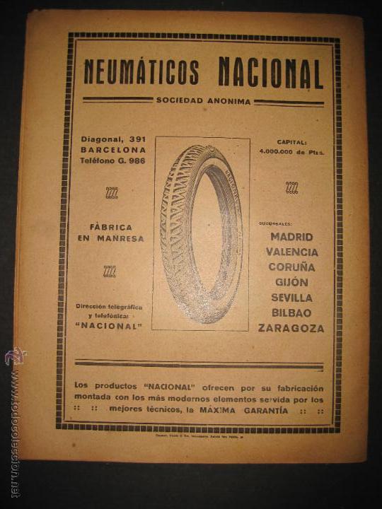 Coleccionismo deportivo: FUTBOL U.S. SANS , F.C. MARTINENC -JORNADA DEPORTIVA NUM.54 - AGOSTO 1922-(CD-1385) - Foto 11 - 47446823