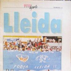 Coleccionismo deportivo: DIARIO AS COLECCIONABLE ASES DEL DEPORTE FICHA 11 LLEIDA. Lote 47760553