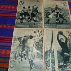 Coleccionismo deportivo: AS NºS 174, 175, 178 Y 179. AÑO 1935. 25 CTS. MUY BUEN ESTADO GENERAL.. Lote 47774037