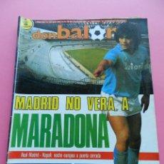 Coleccionismo deportivo: DON BALON Nº 609 1987 SCHUSTER-JUANITO MALAGA-RCD MALLORCA-MADJER-BENFICA-PICHICHI-LUIS DE CARLOS. Lote 47894183