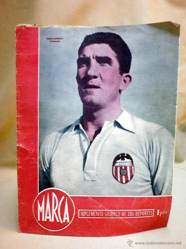 SUPLEMENTO GRAFICO DE DEPORTES, MARCA, Nº 99, OCTUBRE 1944, (Coleccionismo Deportivo - Revistas y Periódicos - Marca)