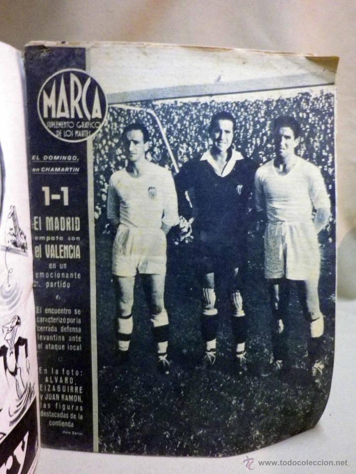 Coleccionismo deportivo: SUPLEMENTO GRAFICO DE DEPORTES, MARCA, Nº 99, OCTUBRE 1944, - Foto 2 - 47914301