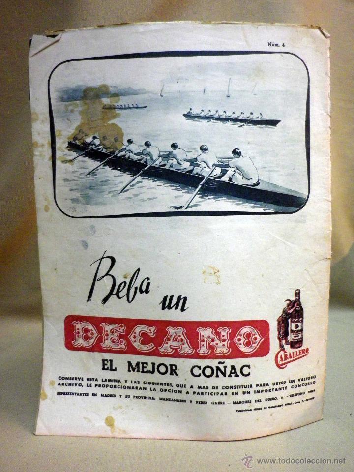 Coleccionismo deportivo: SUPLEMENTO GRAFICO DE DEPORTES, MARCA, Nº 99, OCTUBRE 1944, - Foto 5 - 47914301