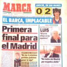 Coleccionismo deportivo: MARCA. 1992. PRIMERA FINAL PARA EL MADRID.. Lote 47933542